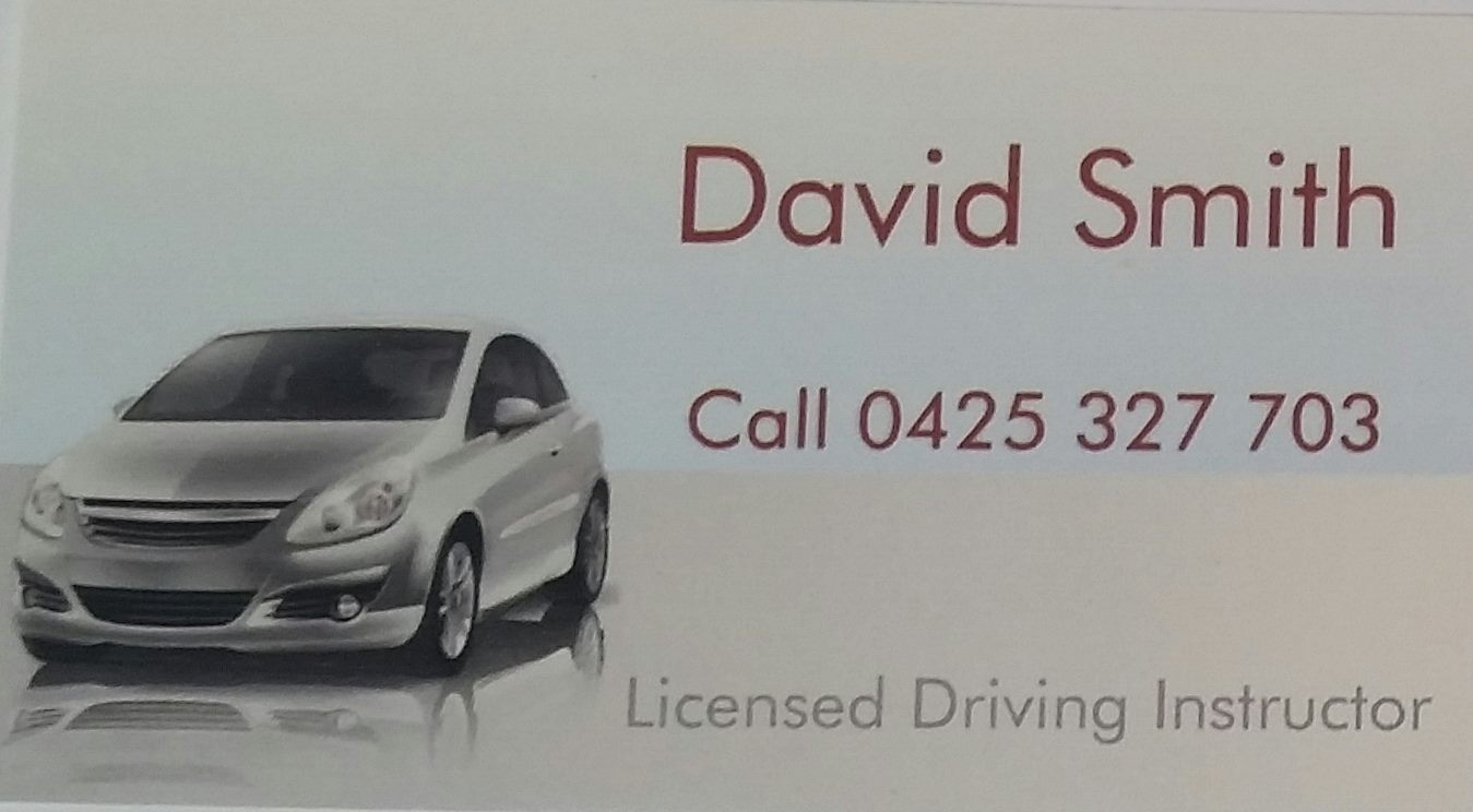 Driving Instructor David Smith